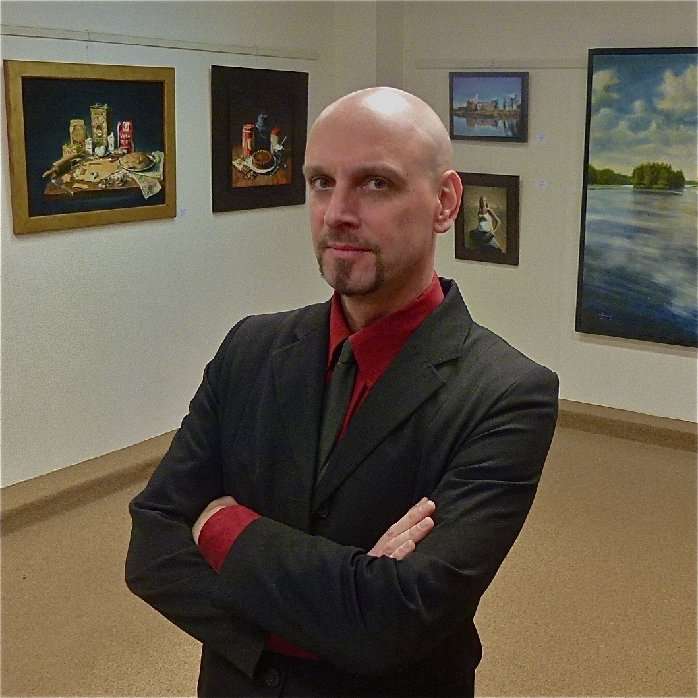 Brandon KralikWith over 20 years of professional oil painting experience Brandon Kralik has painted a wide variety of motifs and is equally comfortable with portrait, still life and landscape genres. His Mythological Figurative work has come to the attent