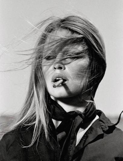 "Terry O'Neill - Brigitte Bardot in Spain (20"" x 16"") (co-signed)"