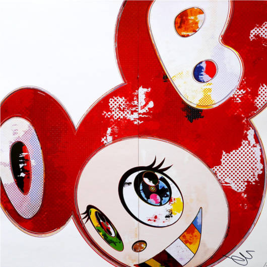 Takashi Murakami - And Then 3000 Red