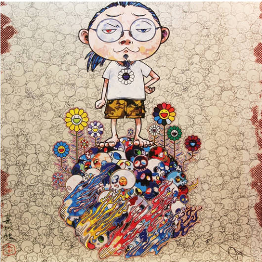 Takashi Murakami - Flowers and Death and Me and...