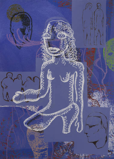 Sverre Bjertnes / Bjarne Melgaard - Untitled (blue)