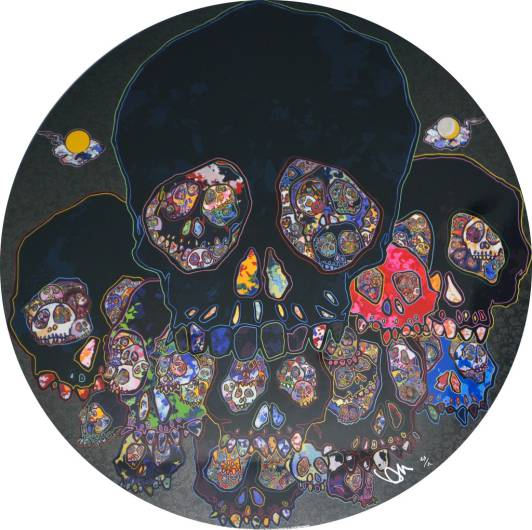 Takashi Murakami - The moon over the ruined castle