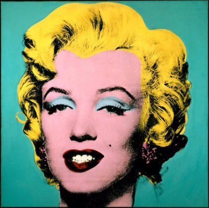 ANDY WARHOLS Marilyn Monroe. Foto: fineart.no.