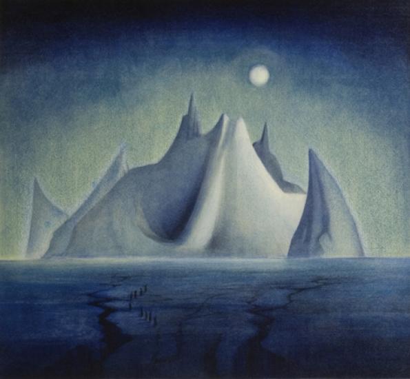 Fersk Vebjørn Sand - Trollslottet, kunst til salgs i nettgalleriet WL-56