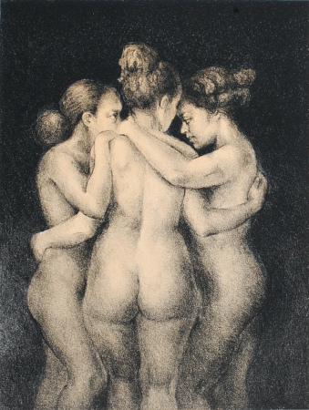 Helene Knoop - Three Black Graces
