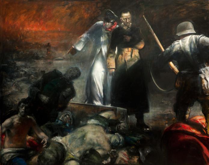 Vebjorn Sand The Surrender Of Stalingrad Handkolorert Kunst Til Salgs I Nettgalleriet