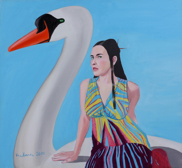 Aija Vinkelmane - Swan, swan, carry me away...