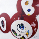 Takashi Murakami - And Then X6 (Red: The Superflat Method)