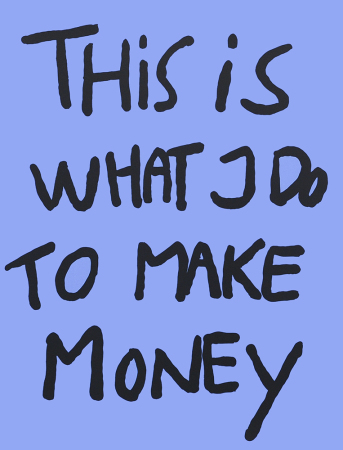 Bjarne Melgaard - This is what I do to make money