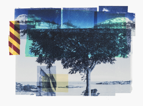 Per Fronth - Blue Tree / Reservoir / Cyan