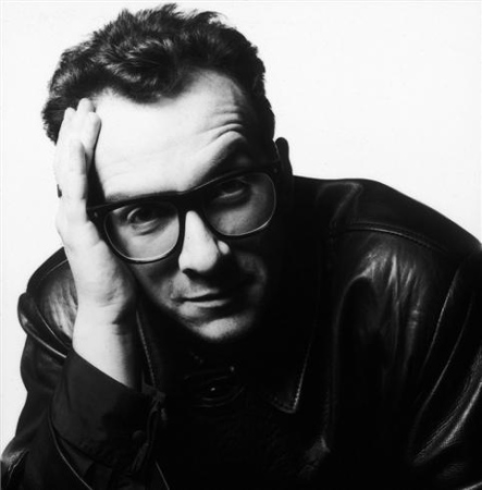 Terry O'Neill - Elvis Costello, London, 1990 (24