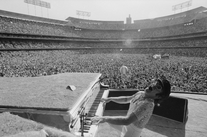 Terry O'Neill - Elton John, Los Angeles, 1975  (24