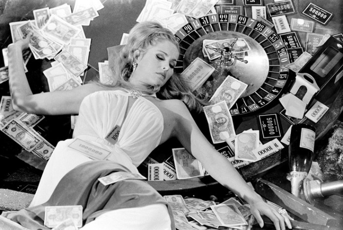 "Terry O'Neill - Ursula Andress in Casino Royale, 1967 (24"" x 20"")"