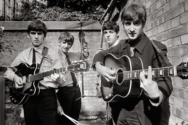 Terry O'Neill - The Beatles At Abbey Road, 1963 (60