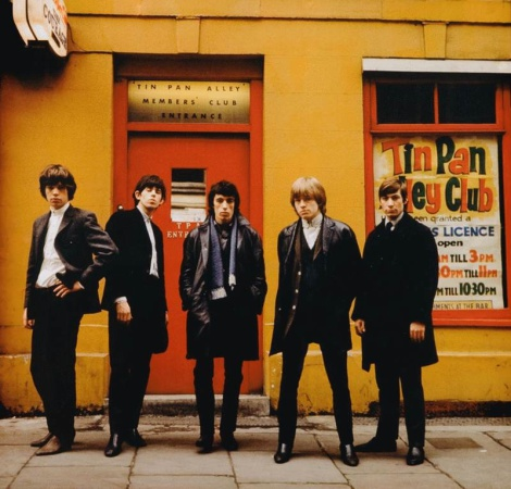 Terry O'Neill - The Rolling Stones Tin Pan Alley, London, 1963 (colour) (20