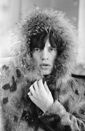 Terry O'Neill - Mick's Parka (mouth open), London, 1964 (20