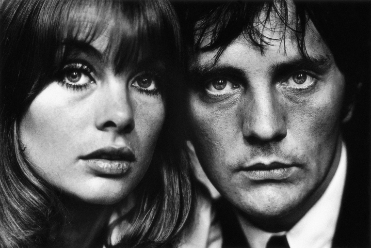 Terry O'Neill - Jean Shrimpton & Terence Stamp, London (20