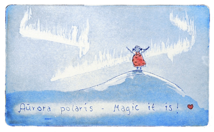 Marianne B. Gudem - Aurora polaris - magic it is!