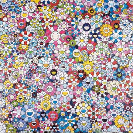 Takashi Murakami - Bouqet of love