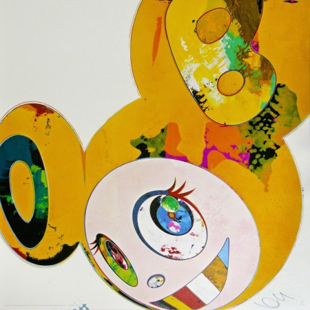 Takashi Murakami - And Then x6  Yellow Universe
