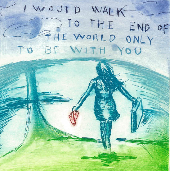 Bjørg Thorhallsdottir - I would walk to the end of the world only to be with you