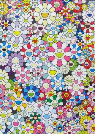 Takashi Murakami - An Homage to Yves Klein, Multicolor C