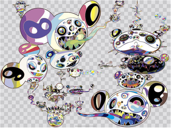 Takashi Murakami - Another Dimension Brushing Against Your Hand