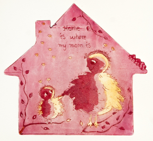 Marianne B. Gudem - Home is where my mom is (rosa)