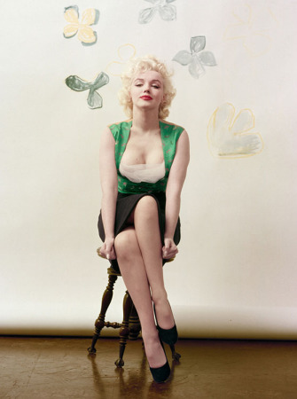 Milton H. Greene - Marilyn Monroe - Emerald Sitting (MSH-27)