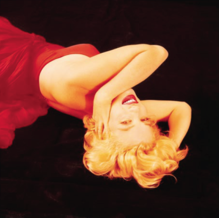 Milton H. Greene - Marilyn Monroe - Red Sitting (RS-14)