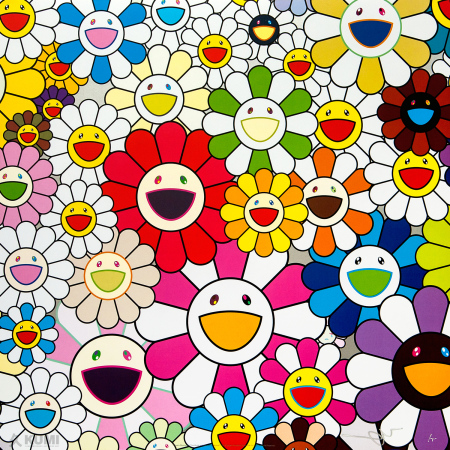 Takashi Murakami - Flowers Blossoming in This World and the Land of Nirvana 1