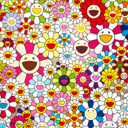 Takashi Murakami - Flowers Blossoming in This World and the Land of Nirvana 2