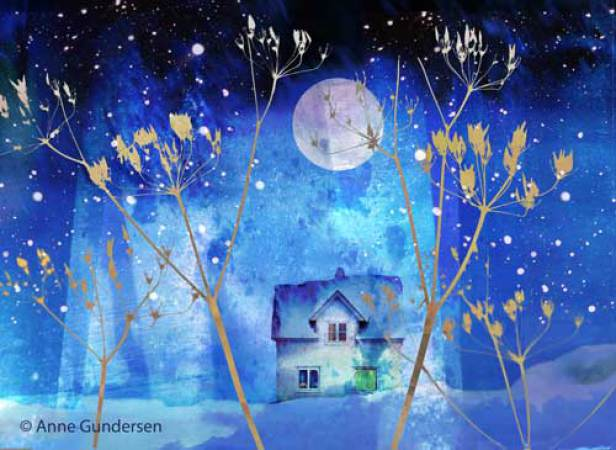 Anne Gundersen - House Blue