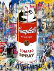 Mr. Brainwash - Tomato spray