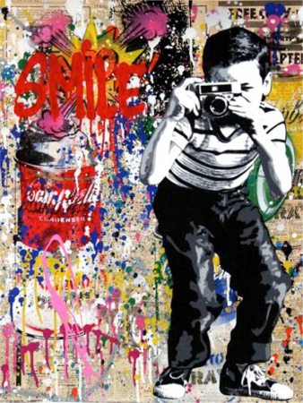 Mr. Brainwash - Smile