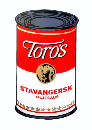 La Staa - Stavangersk oljesaus soup can main edition