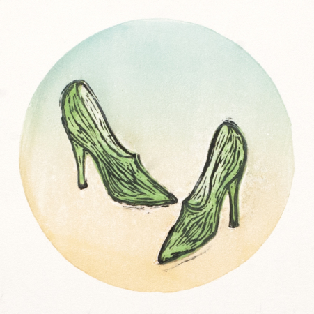 Kari Adora Hauge - Dancing shoes variant 4