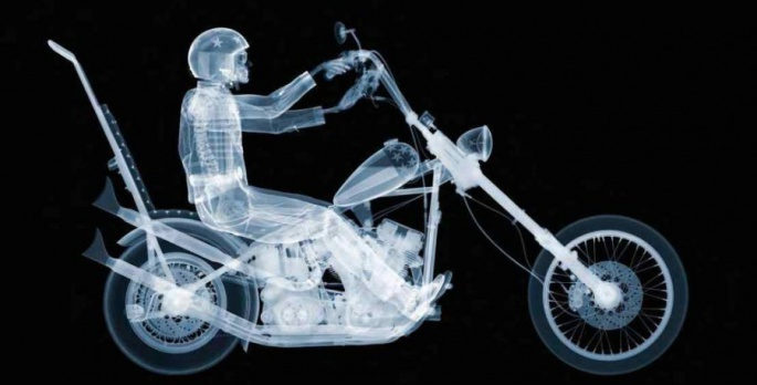 Nick Veasey - Easy Rider