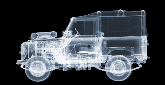Nick Veasey - 1972 Land Rover Series 3