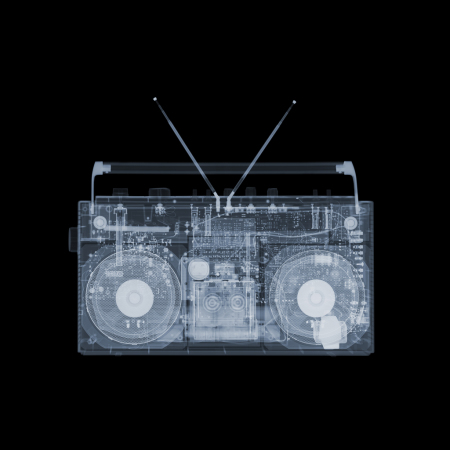 Nick Veasey - Boombox