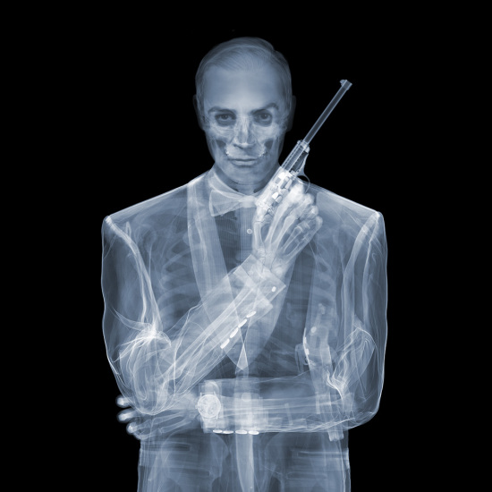 Nick Veasey - James Bond