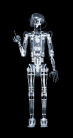 Nick Veasey - Robothespian, The Finger