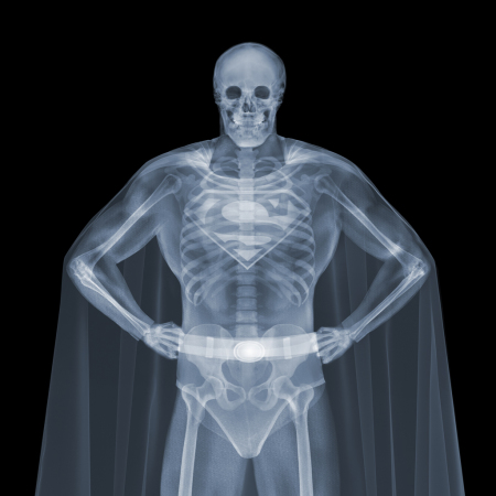 Nick Veasey - Superman 119x119 cm | Edt. AP