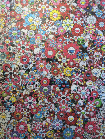 Takashi Murakami - Dazzling Circus: Embrace Peace and Darkness within Thy Heart