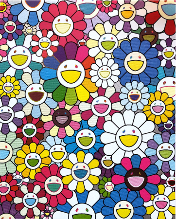 Takashi Murakami - Flowers on the Island Closest to Heaven