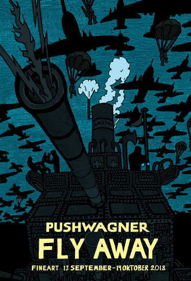 Pushwagner - Plakat - Fly Away (2018)