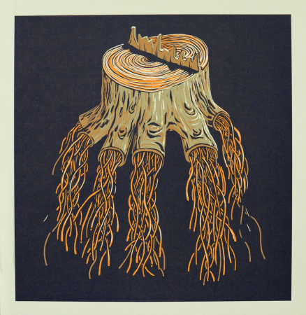 Lars Aurtande - Tree stump
