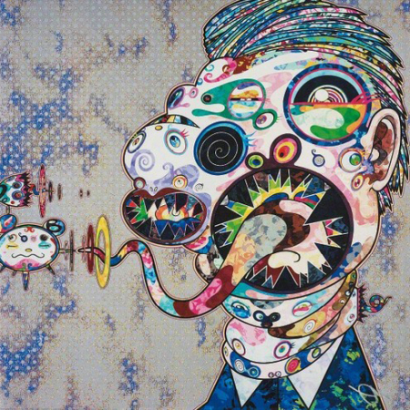 Takashi Murakami - Homage to Francis Bacon (Study for Head of George Dyer)