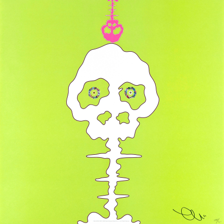 Takashi Murakami - Lime Green-Time