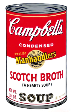 Andy Warhol - Campbell's Soup: Scotch Broth